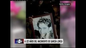 Retro: celebrando el natalicio de Federico García Lorca