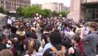 Manifestaciones por la muerte de George Floyd en Nueva York