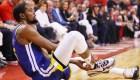 La gran cruz de Kevin Durant: las lesiones