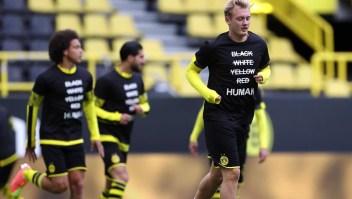 Los grandes gestos de Bayern y Dortmund en contra del racismo