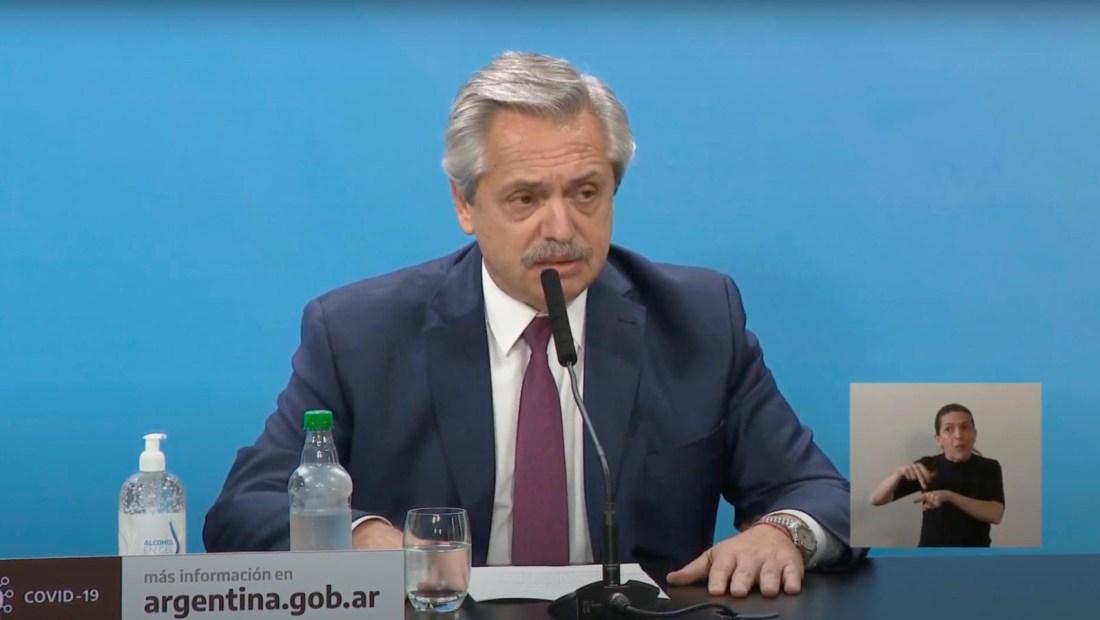 Alberto Fernández rechaza comparaciones con Venezuela