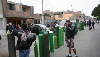 Obtener oxígeno medicinal, una lucha diaria en Perú