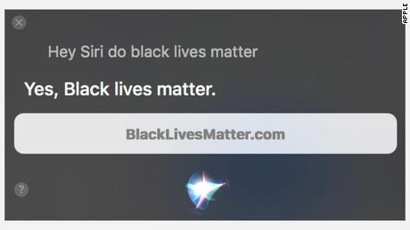 Alexa y Siri tienen nuevas respuestas sobre Black Lives Matter