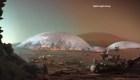 Arquitectos diseñan una ciudad marciana en Dubai