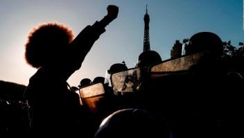 Francia y Australia exponen reclamos propios antirracistas