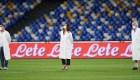 Copa de Italia: homenaje a trabajadores de la salud en las semifinales