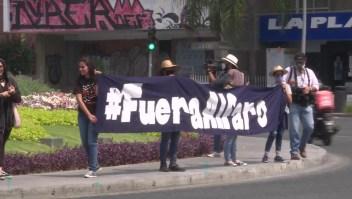 Protesta en México exige justicia para Giovanni López