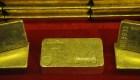 Un valioso cargamento de oro olvidado en un tren