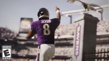 """Lamar Jackson, en la portada de """"Madden NFL 21"""""""