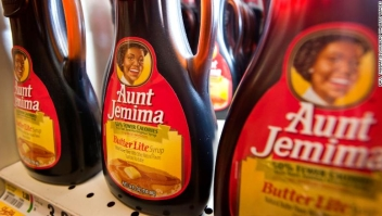 Aunt Jemima syrup, a PespsiCo product, on display in the aisles of a ShopRite grocery store in Stratford, CT, USA, on Wednsday August 3, 2011. Photographer: Paul Taggart/Bloomberg
