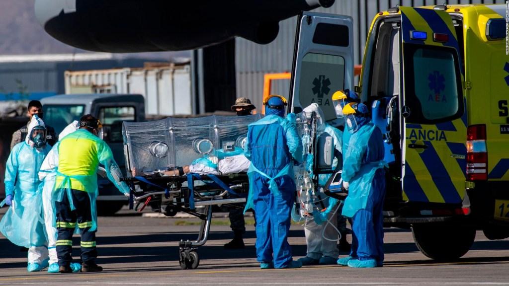 Proponen trasladar enfermos de covid-19 de Chile a Argentina