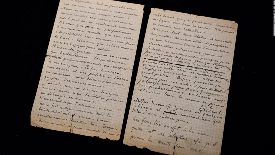 ¿Pagaría US$ 235.000 por una carta escrita por Van Gogh y Gauguin?