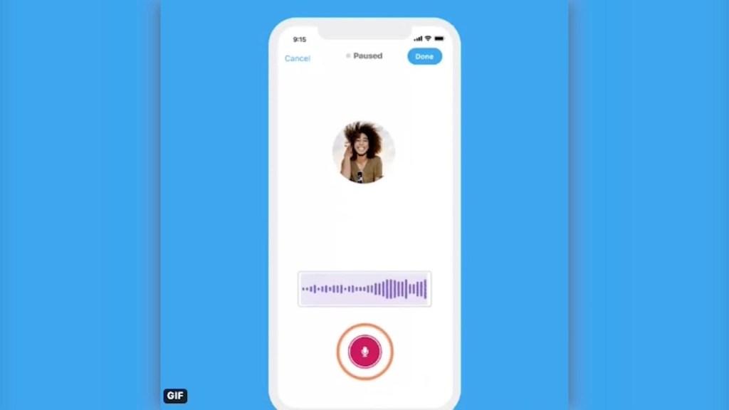 La nueva herramienta de Twitter: notas de voz
