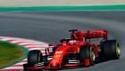 El monoplaza de Ferrari recorrió un trazado muy especial