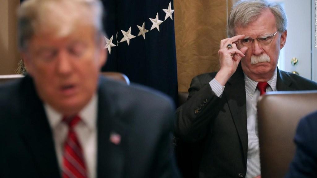 Revelaciones de Bolton sobre Trump encienden Washington