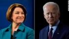 Klobuchar a Biden: Necesitamos una vicepresidenta negra