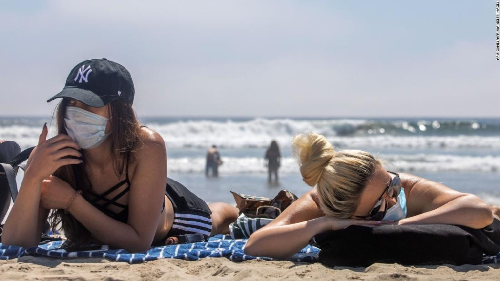 California - uso obligatorio de mascarillas - coronavirus