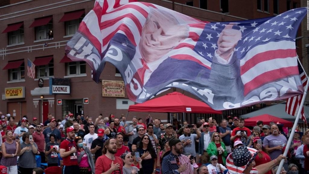 Trump de vuelta a los mitines masivos en Tulsa