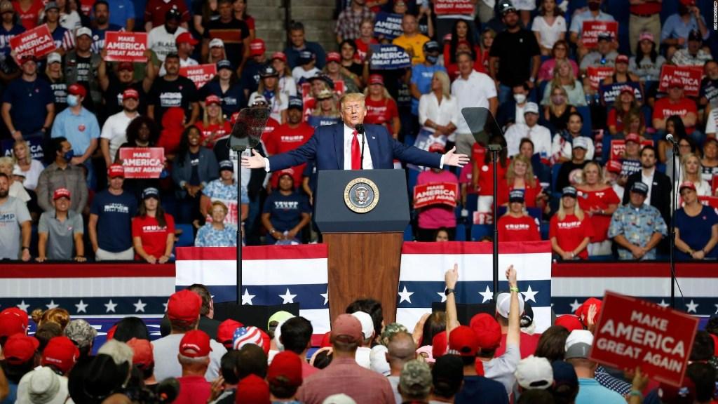 Usuarios de Tiktok plantan a Trump