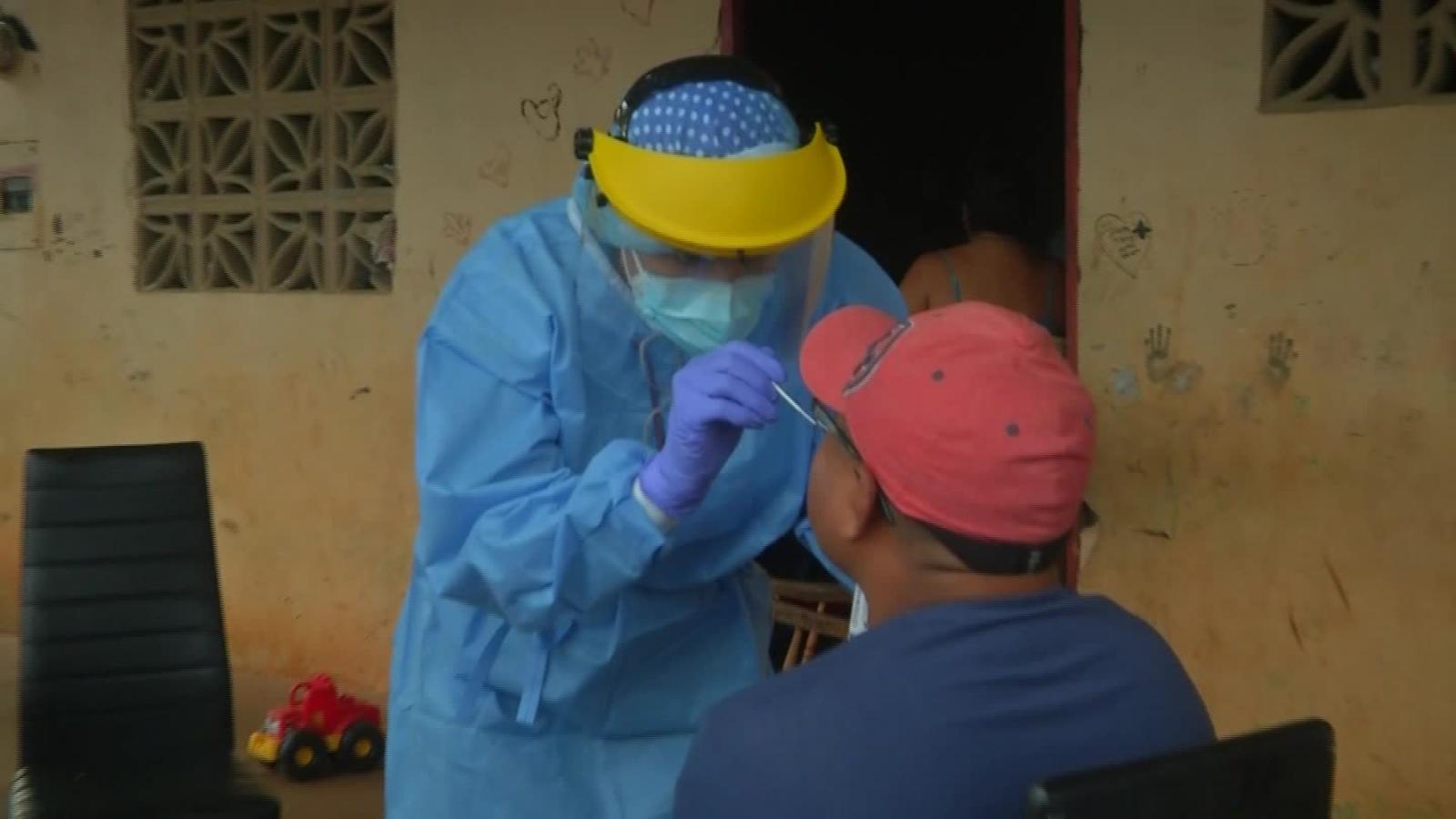 Pruebas rápidas de covid-19 en zonas vulnerables de Panamá