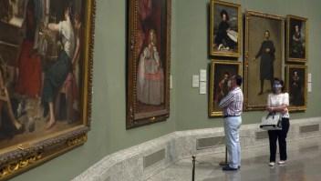 Así es el acceso al Museo del Prado en tiempos de covid-19