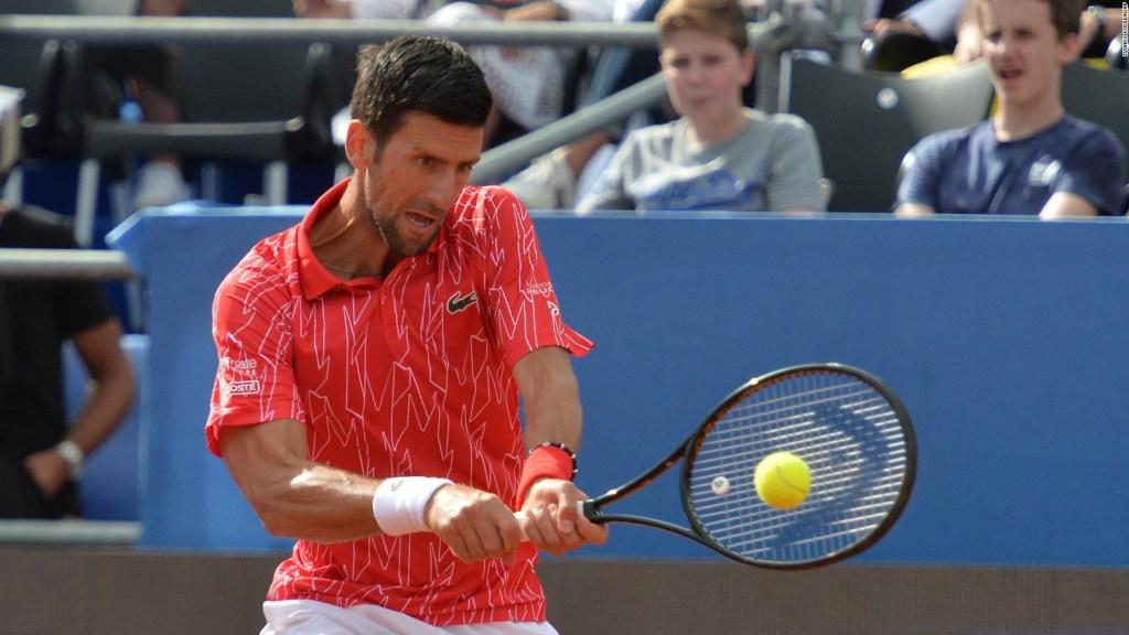 La divina criatura: Novak Djokovic