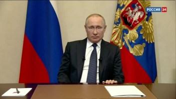 Putin quiere mantenerse como presidente de Rusia