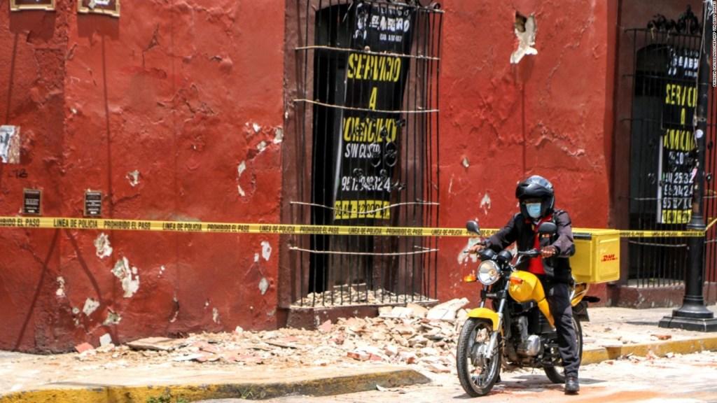 Videos captan la intensidad del sismo de magnitud 7,4 que sacudió a México