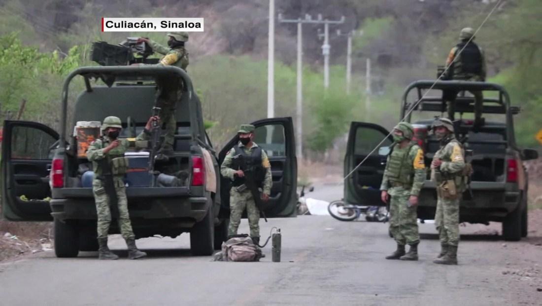 Se registran hechos violentos en Sinaloa y Guanajuato
