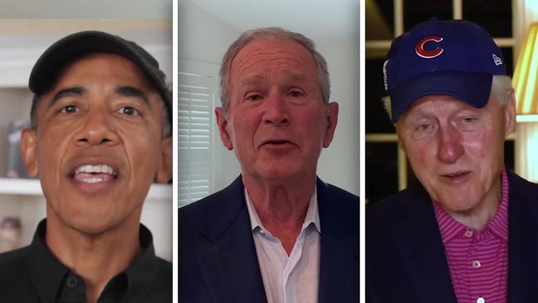 Obama y otros expresidentes honran a las Ligas Negras