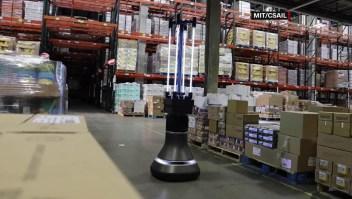 El MIT desarrolla robot que desinfecta superficies