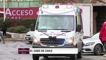 La pandemia azota a Chile