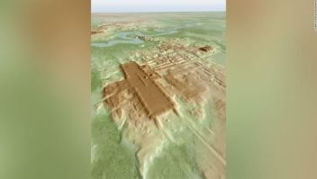 Mapeo láser revela el templo maya más grande y antiguo