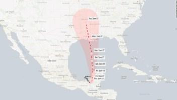 Se espera que la depresión tropical Cristóbal regrese a la costa de Estados Unidos y vuelva a intensificarse