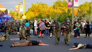 La noche de disturbios en medio de las protestas en tres estados de EE.UU. lleva a un tiroteo y arrestos