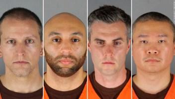 Lo que sabemos sobre los cuatro expolicías acusados de la muerte de George Floyd