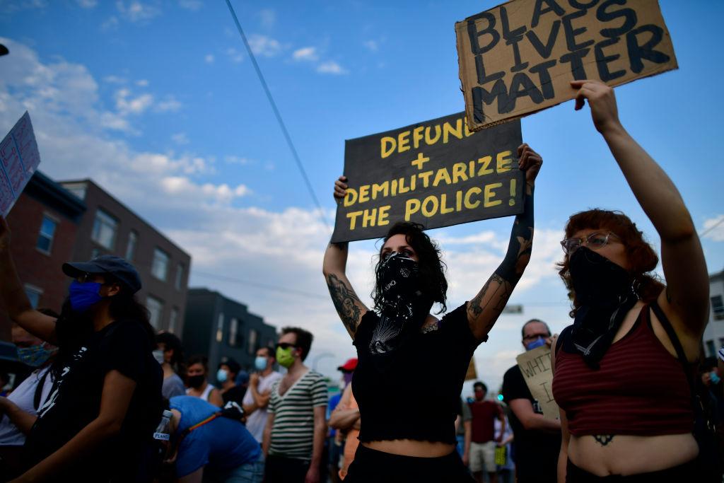 George Floyd - protestas - Filadelfia