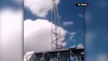 Secuestro trabajadores antenas covid Perú