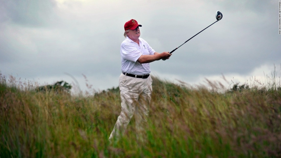 Golf - Donald Trump