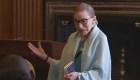 Ginsburg, en tratamiento de quimio pero con fuerzas