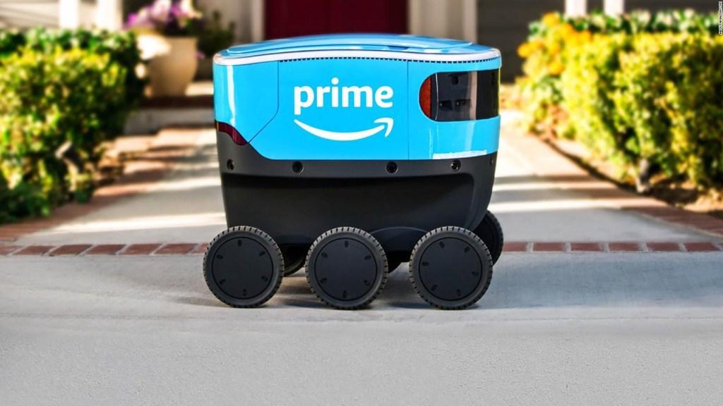 El robot de entregas de Amazon llega a Georgia y a Tennessee