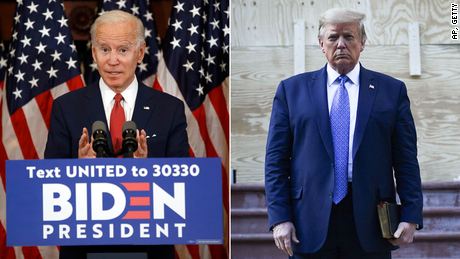 Biden eleva a 10 puntos ventaja sobre Trump en encuestas
