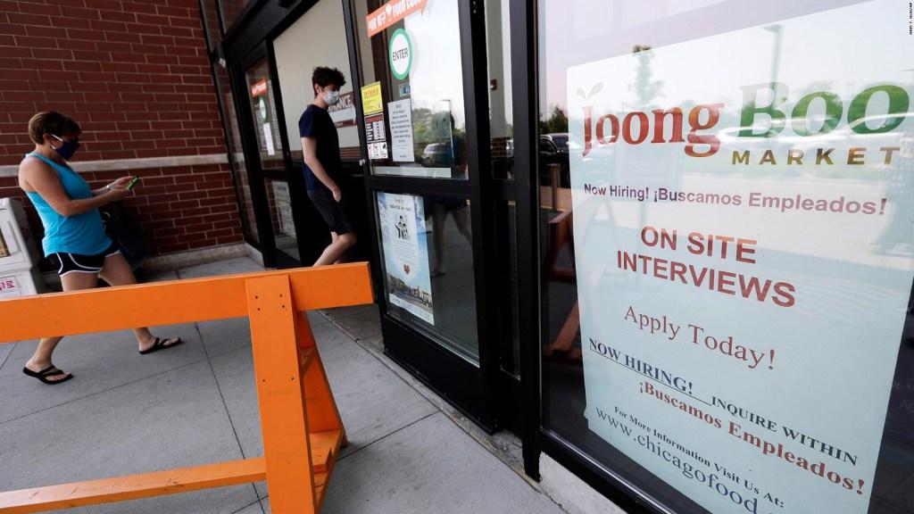 Se crean casi cinco millones de empleos en el mes de junio en EE.UU.