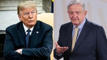 Trump ataca a México por el covid-19 y Amlo dice que es propaganda
