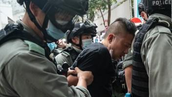 Hong Kong realiza detenciones tras nueva ley de seguridad