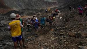 Myanmar: Avalancha de lodo sepulta a decenas de personas