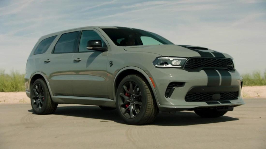 Chrysler lanza la nueva camioneta Dodge Durango SRT Hellcat