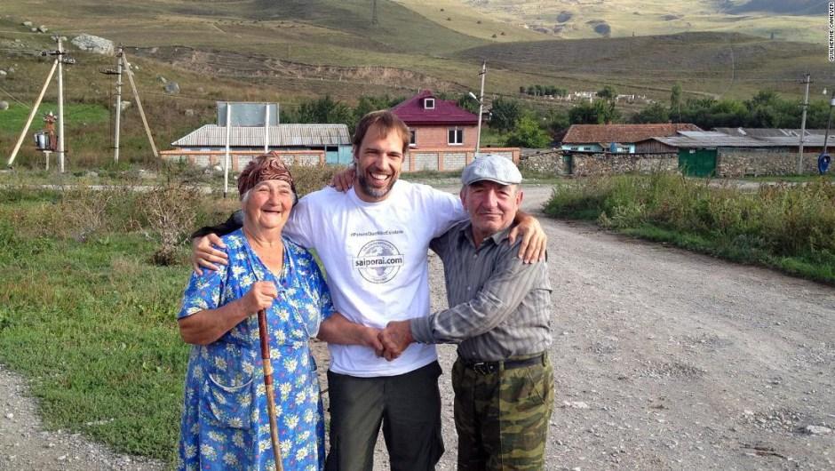 Guilherme Canever - Cómo es la experiencia de viajar a un país que no existe