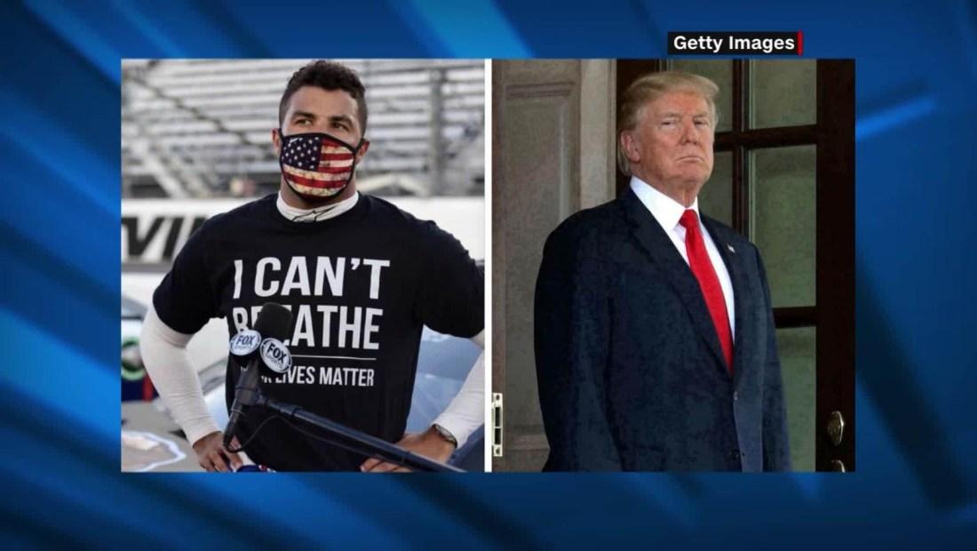El tuit de Trump sobre la Nascar y la bandera confederada