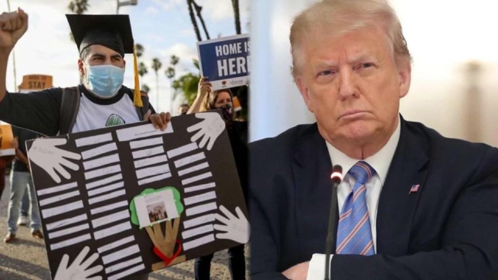 La Casa Blanca corrige las palabras de Trump sobre DACA
